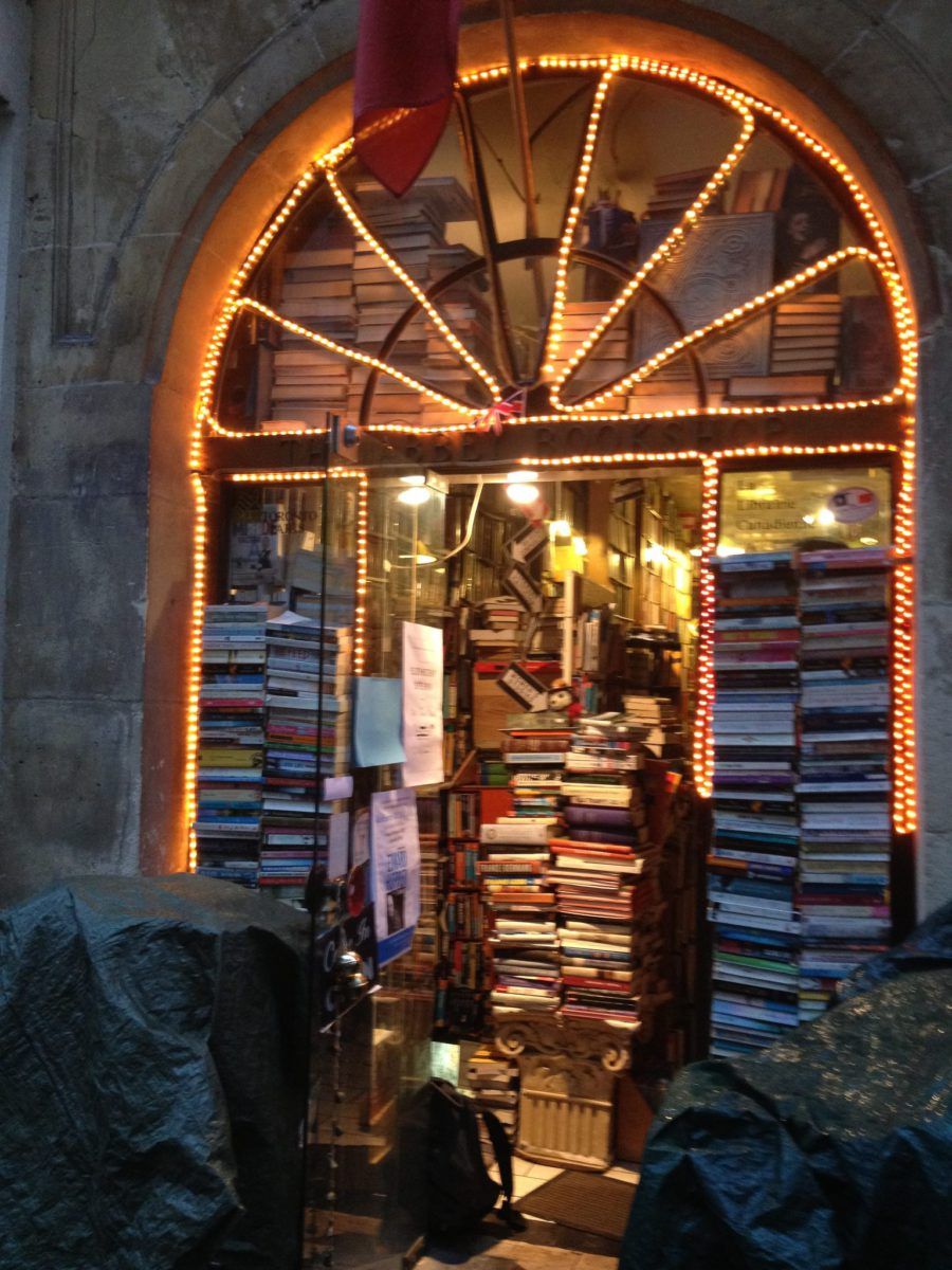 parisian book shop