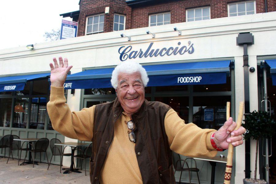 Carluccio & his food empire UK
