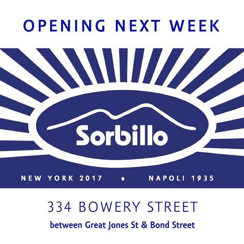 Sorbillo opens in NYC