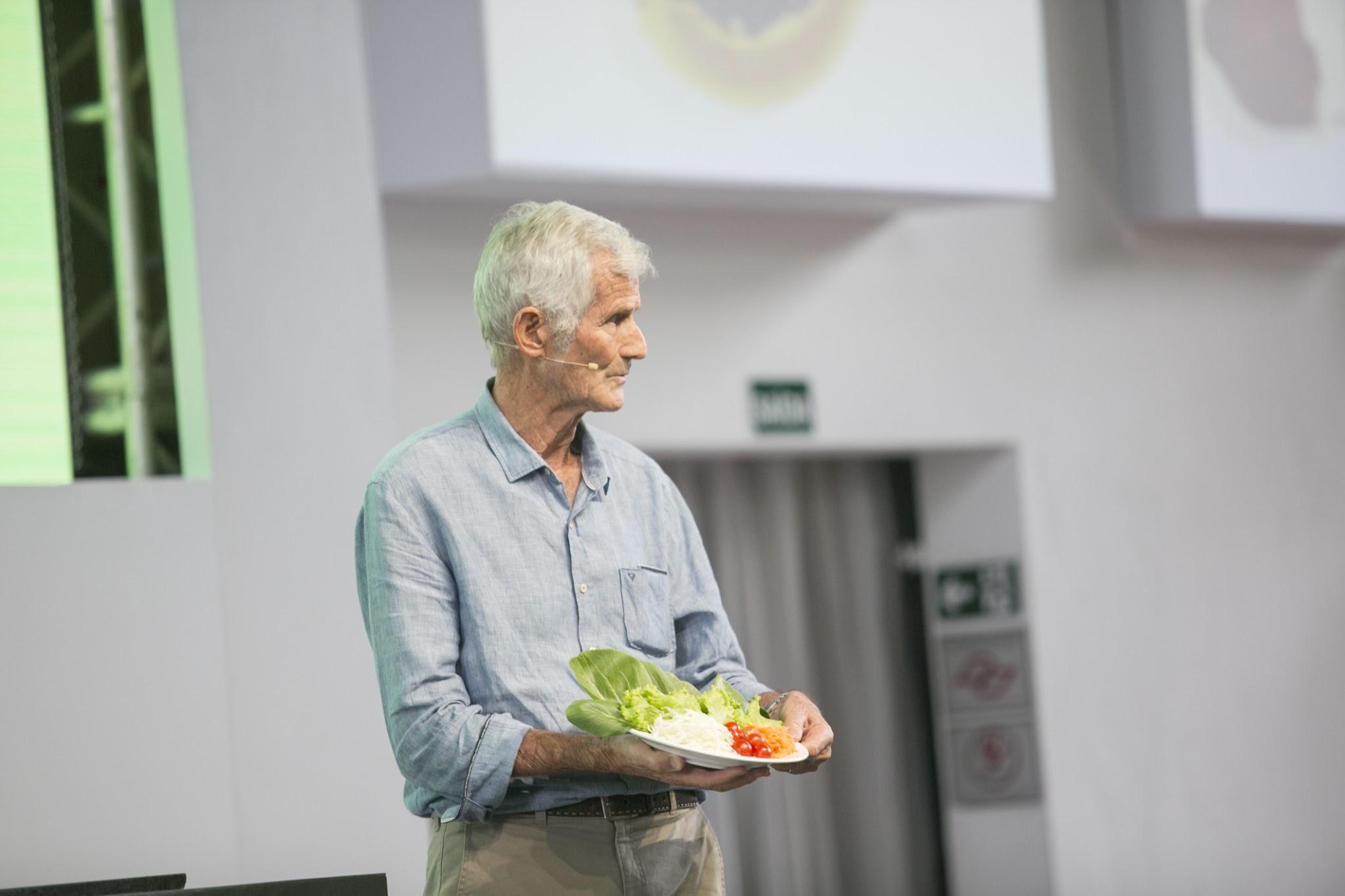 Joop Stoltenborg on Food Forum stage
