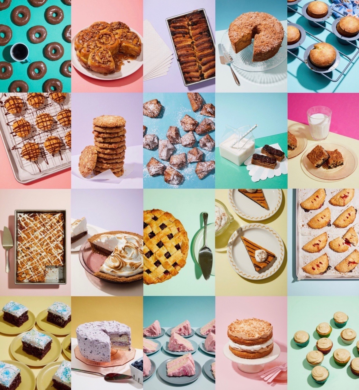 grid of Alice Gao photos from The Vintage Baker